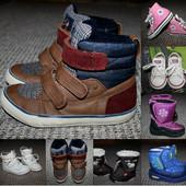 Детская обувь от 0 до 10лет