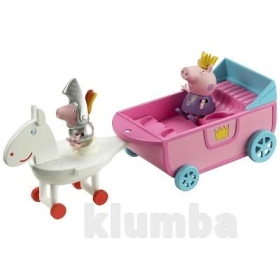 Игровой набор Peppa серии Принцесса Королеская карета фото №1