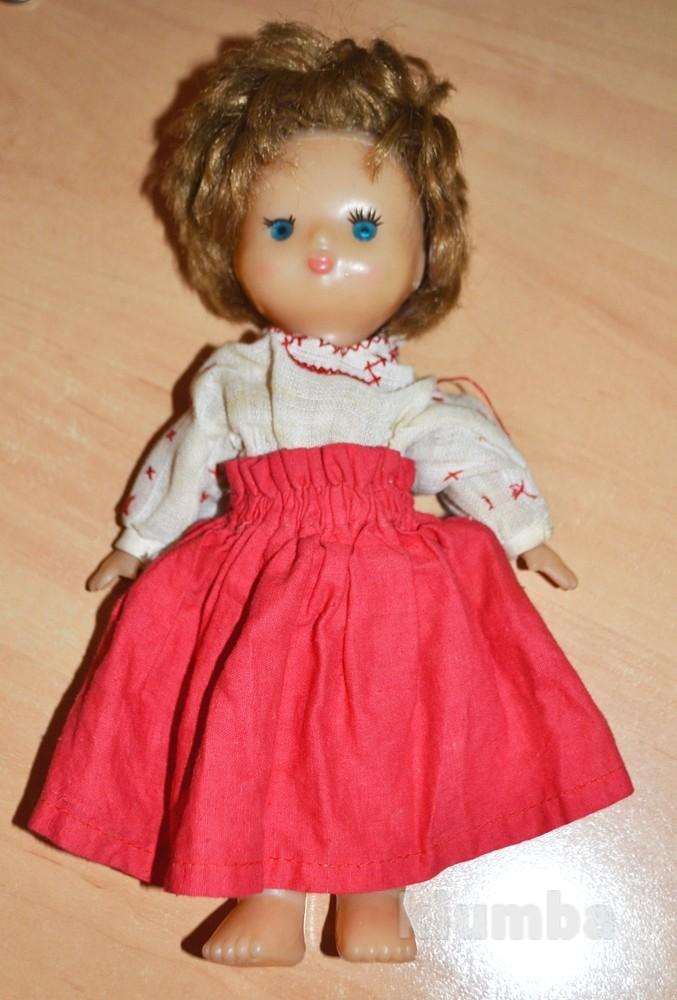 Кукла на резинках советская,СССР фото №1