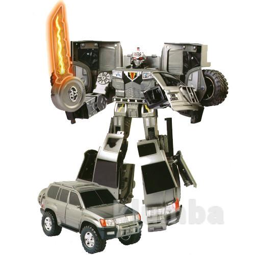 Робот-трансформер - Toyota Land Cruiser (1:18) фото №1