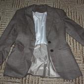 H&M пиджак с подкладкой 36р