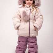 Детский зимний комбинезон костюм для девочки