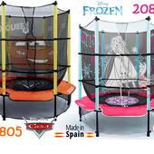 Батут с защитной сеткой Cars Auta Injusa 20805.Frozen 20888