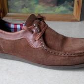 № 1795 мокасины Base London 42 кожа , ботинки , туфли, кроссовки