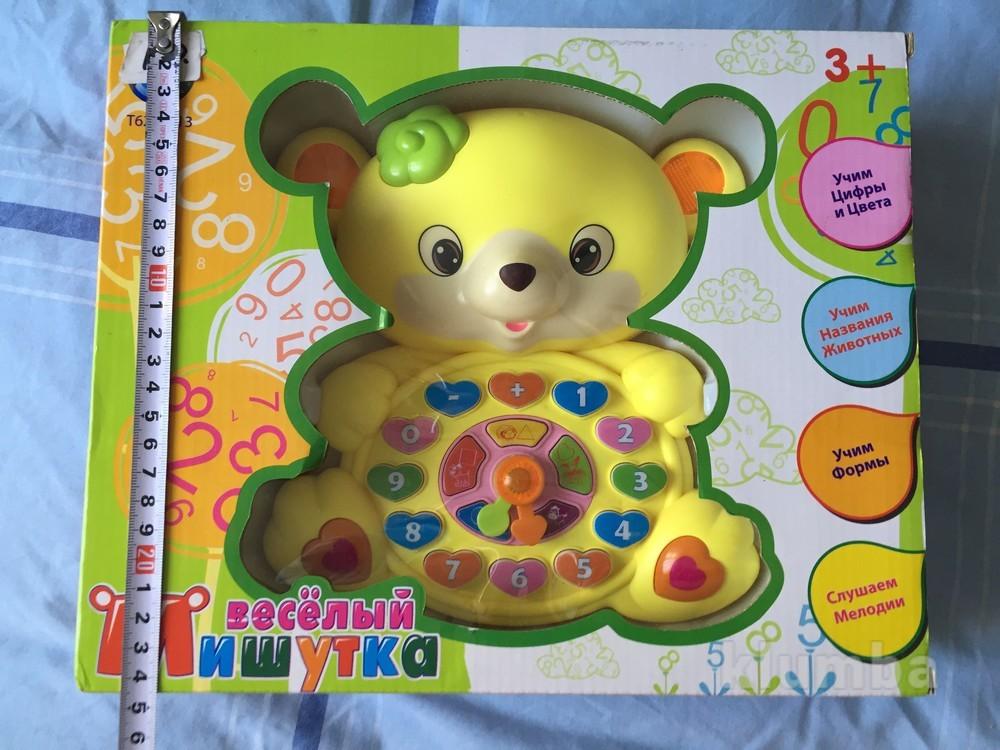 Интерактивная игрушка мишка. новый. фото №1
