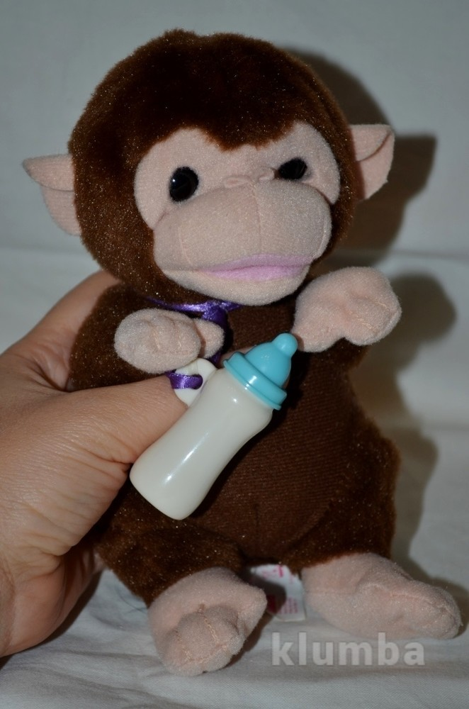 Ani Magic Интерактивная мартышка обезьянка малыш фото №1