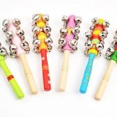 Бубенцы-палочки, Мир деревянных игрушек (в ассортименте)