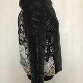Демисезонная женская куртка. Женский теплый недорогой пуховик. Супер цена!
