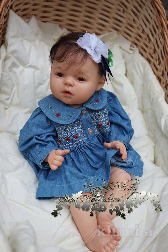 Кукла реборн Алисия. фото №1