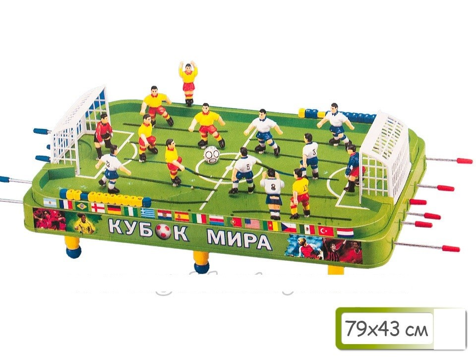 Настольная игра футбол 79*43см фото №1