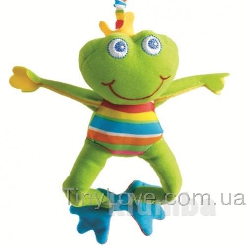 лягушонок Фрэнки подвеска TinyLove Tiny smarts Frankie frog фото №1