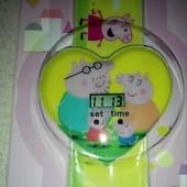 Детские часы Свинка Пеппа