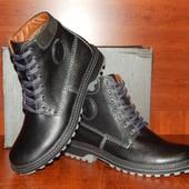 Мужские кожаные зимние ботинки YDG Bellini 43 размер Распродажа!