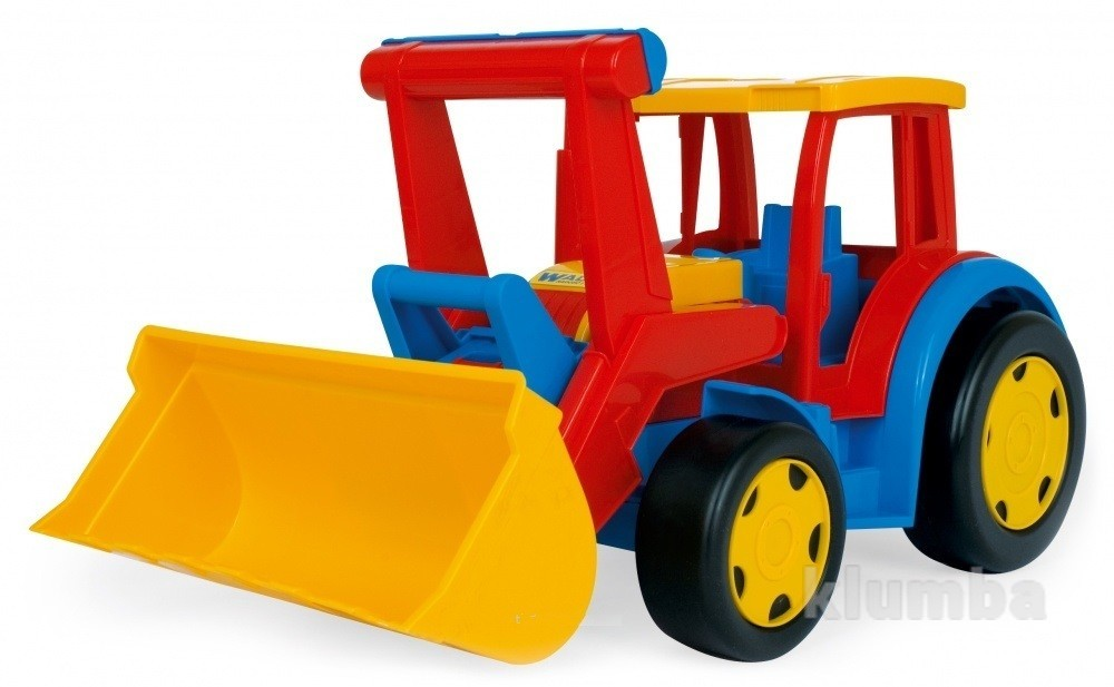 Большой игрушечный трактор гигант с ковшом   66000 фото №1