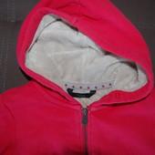 кофта олимпийка чибо розовая, рост 146-152