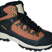 Мужские зимние ботинки Arrigobello Польша размеры 41-46 № А-80063 black-d.brown