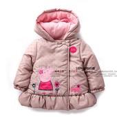 Теплая курточка Свинка пепа на осень