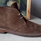 № 1813 Ботинки Clarks 44 кожа , туфли, дезерты