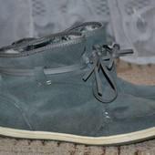 Замшевые ботиночки 39р