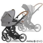 Универсальная коляска 2в1 Mutsy Evo Nomad, 2015 touch of taupe