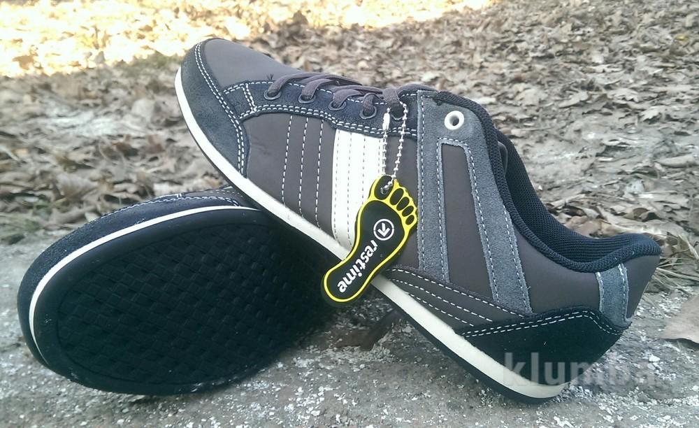 Мужские комбинированные кроссовки 42р фото №3