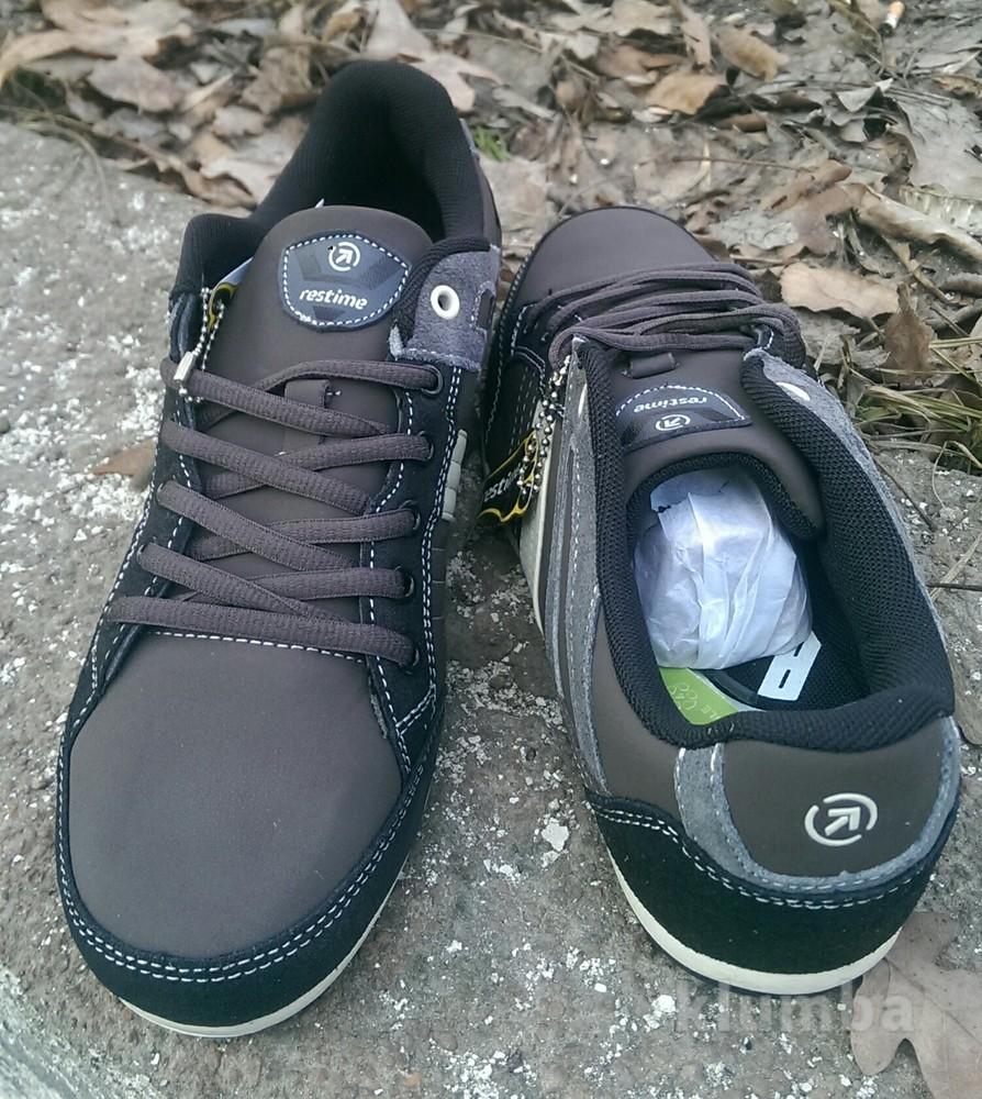 Мужские комбинированные кроссовки 42р фото №4
