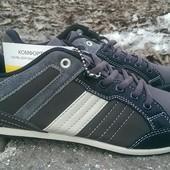 Мужские комбинированные кроссовки 41-45р