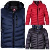 стеганая мужская зимняя куртка
