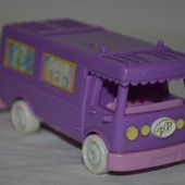 Машинка Автобус Домик дом Polly Pocket Bluebird для малюсеньких маленьких куколок кукол карманный