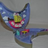 Домик дом Polly Pocket Bluebird для малюсеньких маленьких куколок кукол карманный