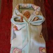 Одеяло-конверт трансформер для малыша