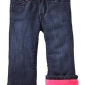 Детские джинсы на флисе Old Navy на девочку в наличии из Америки