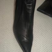 чоботи шкіряні-обуті 1 раз