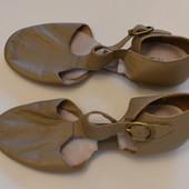 Туфельки кожаные для танцев