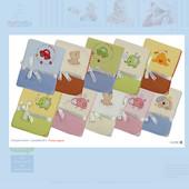 Duetbaby детский плед одеяло с апликацией
