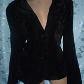 Пиджак нежный,велюровый, XXL,очень приятный к телу