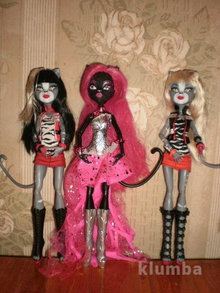 Куклы монстер хай monster high кошечки фото №1