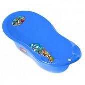 Ванночка для новорожденных Tega 102 см  Cars CS-005 (голубой,красный)