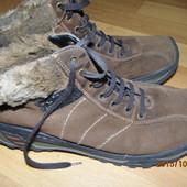 -40% фирменные зимние кожаные ботинки 38-39 р  Rieker