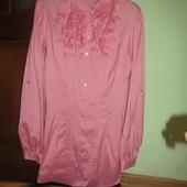 Класна сорочка для стильної дівчини)Стан НОВОЇ!!!