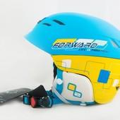 Шлем горнолыжный X Road № 930 7 blue yellow