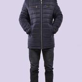 Мужская зимняя куртка модная стеганная Дмитрий