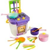 Посудка Ромашка с плитой 25 элементов Тигрес 39153 Wader Вадер игрушечная посуда
