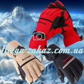 Перчатки горнолыжные/перчатки лыжные Puissant Plus, 3 цвета: L