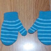 Демисезонные рукавички для ребенка 12-24 месяцев