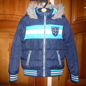Куртка демисезон еврозима 7-8 лет Джордж во двор