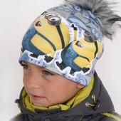Новые модели  Теплые зимние шапочки на флисе