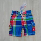 Новые яркие пляжные шорты Urban Rascals для мальчика, размер 1.5-2 года. Внутри сетка.