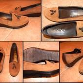 Замшевые туфли Eco