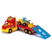 """Тягач эвакуатор с трактором, 110 см, Wader 36520 """"Super Truck"""""""